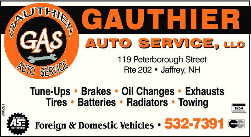 Gauthier Auto Service